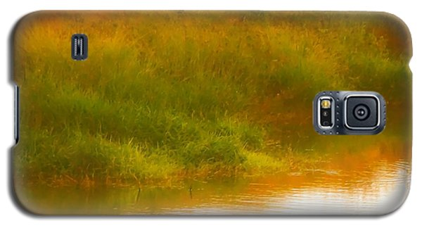 Misty Yellow Hue -lone Jacana Galaxy S5 Case