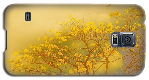 Misty Yellow Hue -poui Galaxy S5 Case
