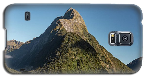 Galaxy S5 Case featuring the photograph Mitre Peak Rahotu by Gary Eason