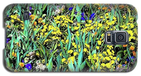 Mixed Flower Garden 515 Galaxy S5 Case