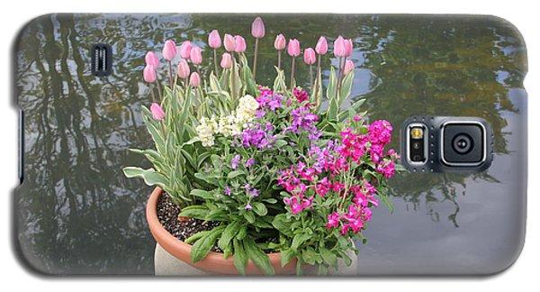 Mixed Flower Planter Galaxy S5 Case