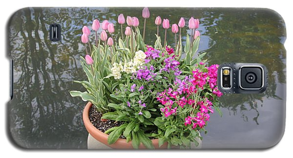 Mixed Flower Planter Galaxy S5 Case