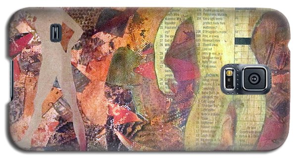 Galaxy S5 Case featuring the mixed media Mixed Media by Patricia Cleasby