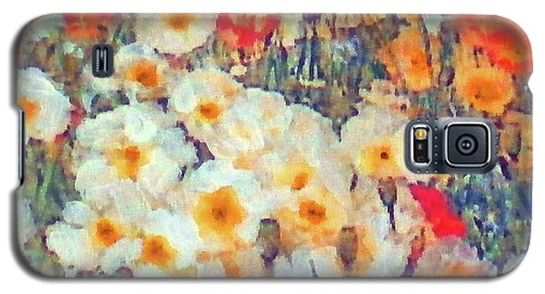 Mixed Poppies Galaxy S5 Case