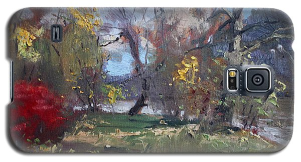 Mixed Weather In A Fall Afternoon Galaxy S5 Case by Ylli Haruni