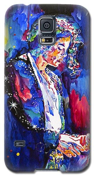 Mj Final Performance II Galaxy S5 Case by David Lloyd Glover