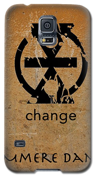 Mmere Dane Adinkra Symbol Galaxy S5 Case by Kandy Hurley