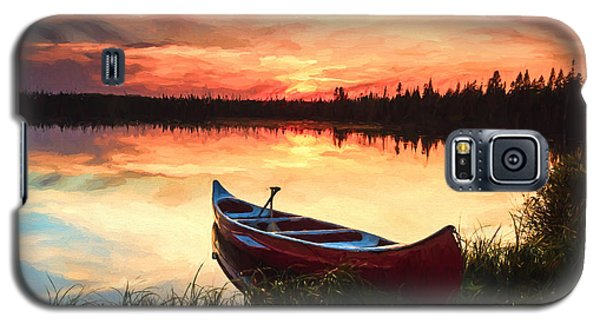 Mn Sunset 2 Galaxy S5 Case