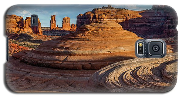 Moab Back Country Panorama 2 Galaxy S5 Case