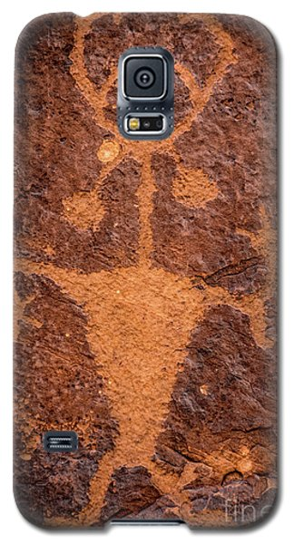 Moab Man Petroglyph Portrait - Utah Galaxy S5 Case