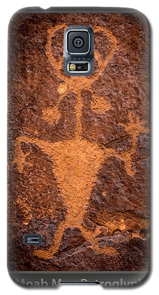 Moab Man Poster Galaxy S5 Case by Gary Whitton