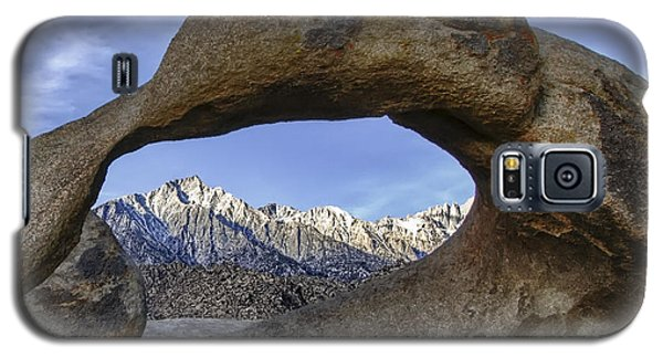 Mobius Arch And Lone Pine Mt. Galaxy S5 Case