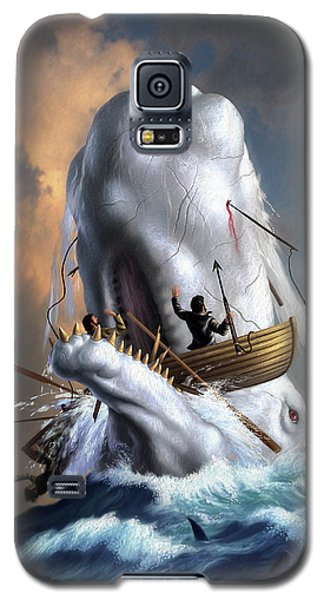 Sharks Galaxy S5 Case - Moby Dick 1 by Jerry LoFaro