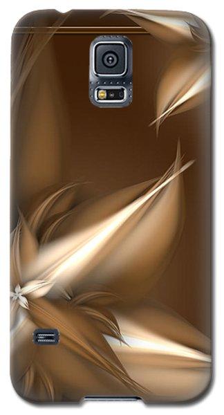 Mocha Cream Swirl Galaxy S5 Case