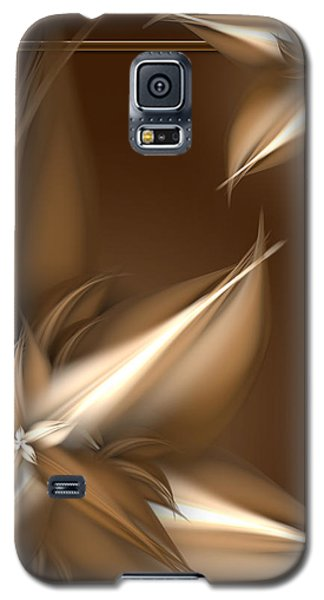 Mocha Cream Swirl Galaxy S5 Case