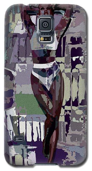 Mocha Musing Galaxy S5 Case by Tlynn Brentnall