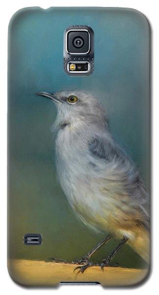 Mockingbird On A Windy Day Galaxy S5 Case