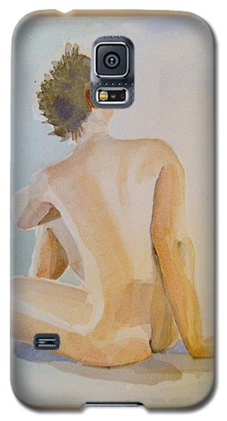 modell akvarell 2013 04 20-21 1 foto 143 Up to 51 x 76 cm Galaxy S5 Case