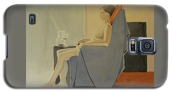 Modell Akvarell 2013 06 15-16 133 Galaxy S5 Case