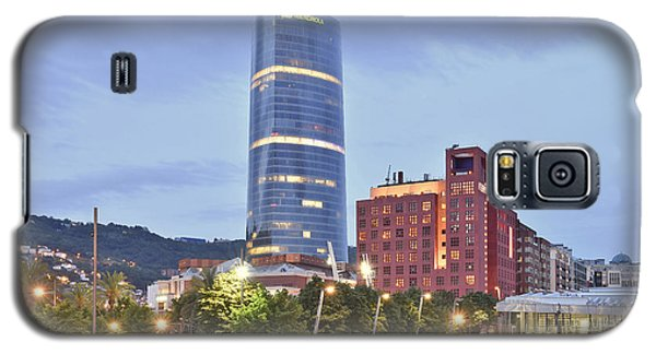 Galaxy S5 Case featuring the photograph Modern Architecture Bilbao Spain by Marek Stepan