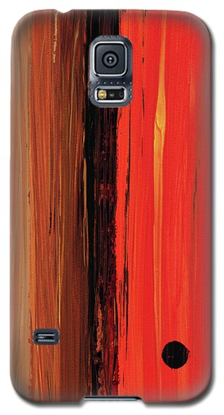 Modern Art - The Power Of One Panel 1 - Sharon Cummings Galaxy S5 Case by Sharon Cummings