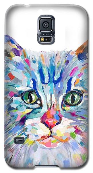 Modern Cat Galaxy S5 Case