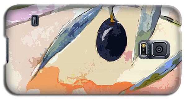Modern Decor Art Olive Branches 2 Galaxy S5 Case