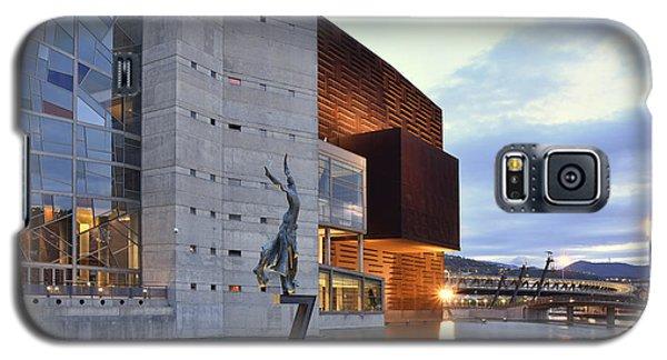 Galaxy S5 Case featuring the photograph Modern Euskalduna Center Bilbao by Marek Stepan