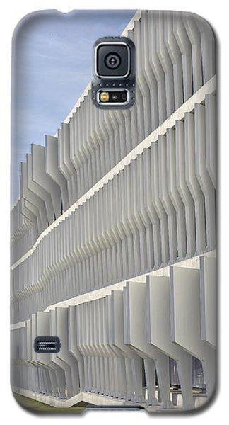 Galaxy S5 Case featuring the photograph Modern Facade Abstract by Marek Stepan