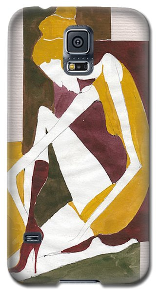 Modern Greek Goddess Galaxy S5 Case by Maya Manolova