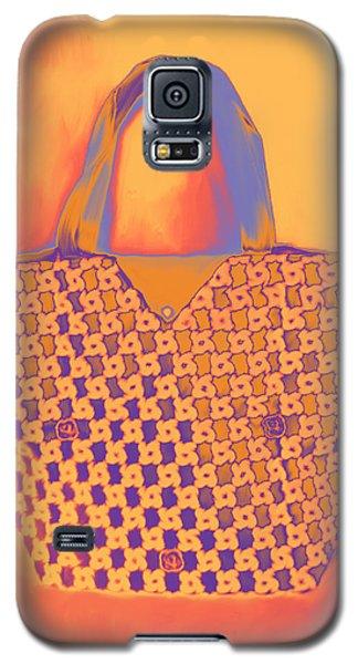 Modern Shopping Bag Galaxy S5 Case