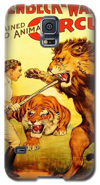 Modern Vintage Circus Poster Galaxy S5 Case