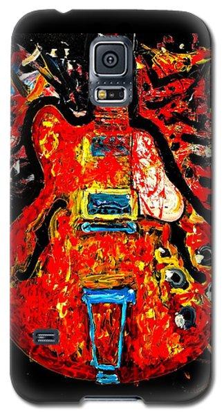 Modern Vintage Guitar Galaxy S5 Case