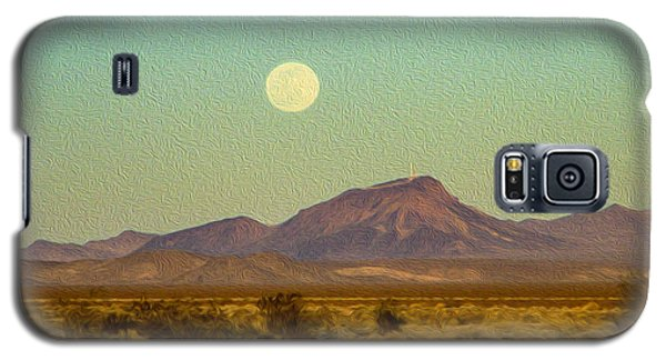 Mohave Desert Moon Galaxy S5 Case