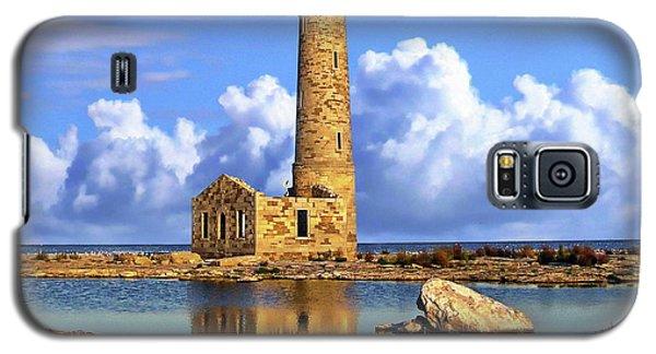 Mohawk Island Lighthouse Galaxy S5 Case