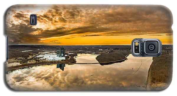 Galaxy S5 Case featuring the photograph Mohegan Sun Sunset by Petr Hejl