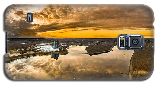 Mohegan Sun Sunset Galaxy S5 Case by Petr Hejl
