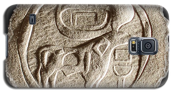 Galaxy S5 Case featuring the relief Mohenjodaro Seal by Suhas Tavkar