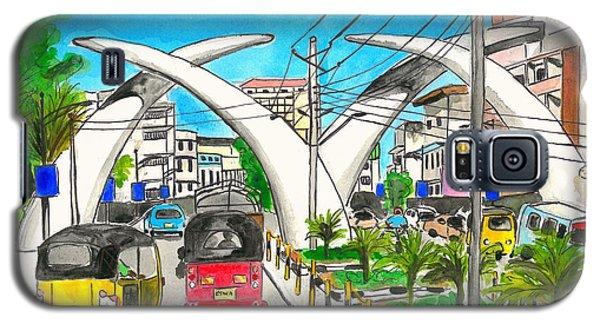 Moi Ave, Mombasa Tusks  Galaxy S5 Case