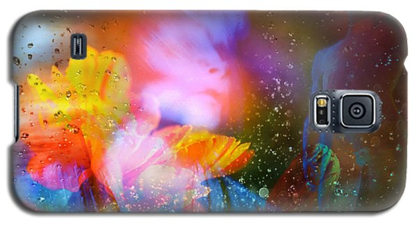 Galaxy S5 Case featuring the digital art Moist Dream Vision  by Rosa Cobos