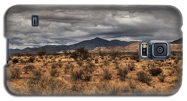 Galaxy S5 Case featuring the photograph Mojave Landscape 001 by Lance Vaughn