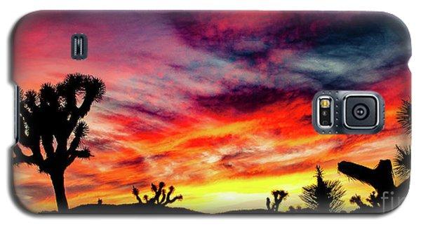 Mojave Sunset Galaxy S5 Case