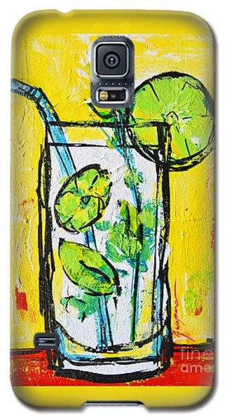 Mojito - Latin Tropical Drink Modern Art Galaxy S5 Case