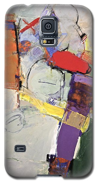 Galaxy S5 Case featuring the painting Mojo Rizen Via La Woman by Cliff Spohn