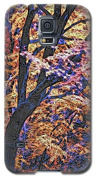 Moku Hanga Autumn Galaxy S5 Case