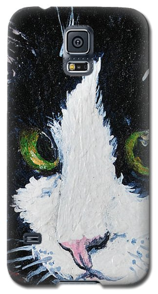 Galaxy S5 Case featuring the painting Molly by Reina Resto