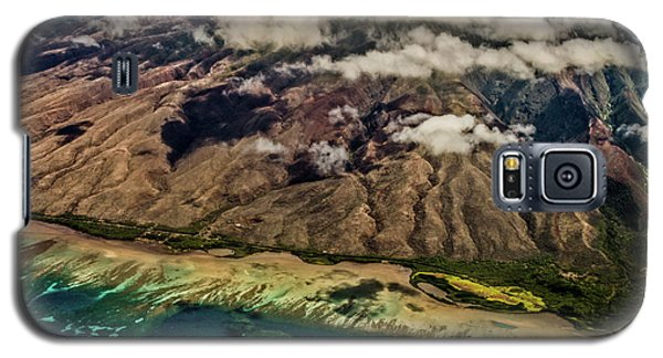 Molokai From The Sky Galaxy S5 Case by Joann Copeland-Paul