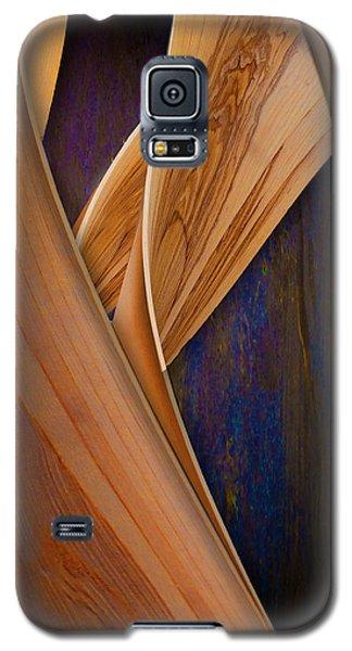 Molten Wood Galaxy S5 Case