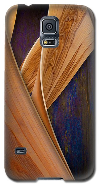 Molten Wood Galaxy S5 Case