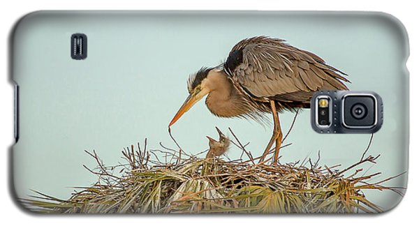 Mom And Chick Galaxy S5 Case